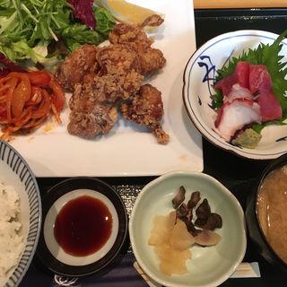 鶏唐揚げ定食(日本海庄や 津田沼パルコ店 )