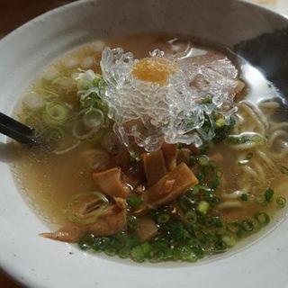 潮そば(自家製麺 仁 (自家製麺 JIN))