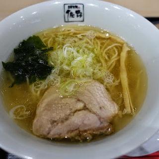 塩らぁ麺(自家製麺 佐野)