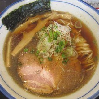 煮干醤油そば(自家製麺中華そば 八縁 )