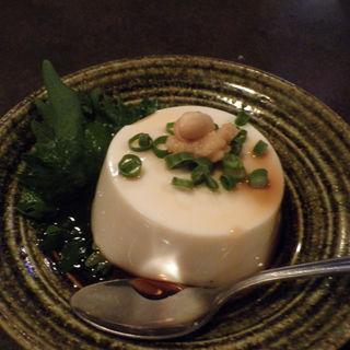 ジーマーミー豆腐(花々)