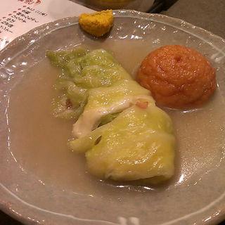 チーズロールキャベツ(花くじら 歩店 (はなくじら))