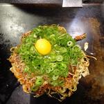 京べた焼 特製たぬき焼