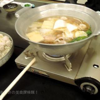 鶏豚ちゃんこ鍋コース(2時間の飲み放題付き)(花楽 )
