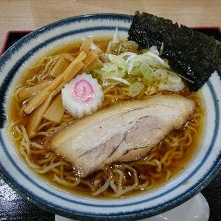 地産醤油ラーメン(茨城大勝軒 )