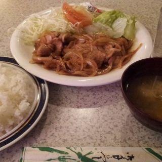 豚しょうが焼定食(茶亜夢 )