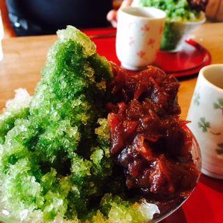 抹茶氷(茶房 竹の子 (さぼう たけのこ))