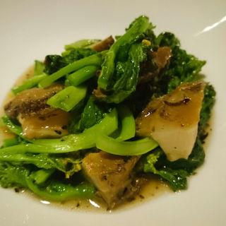 エビと豆腐、生湯葉の煮込み(茶月斎)