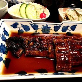 うなぎ定食 特上(荒木富松うなぎ屋)