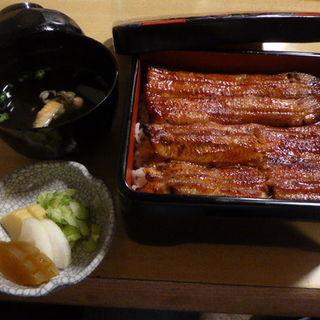 鰻重定食(菊家 (きくや))