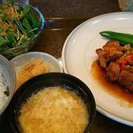 豚肉の黒酢ソースのステーキ(菜々人 (ナナニン))