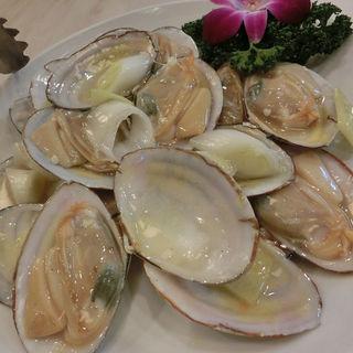 白貝の炒め(華錦飯店)