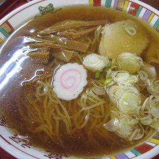 ワンタンメン(萬福屋 (まんぷくや))