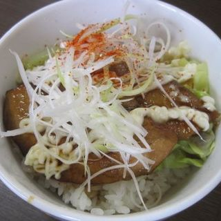 ミニ炙りチャーマヨ丼(蔵八ラーメン亭 東佐沼店 )