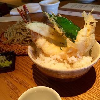 えび天丼(ミニ丼)(蕎麦 一 )