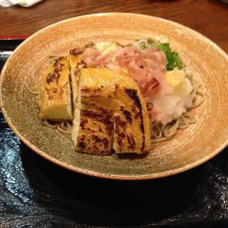 揚げ餅おろし(蕎麦・天婦羅 やす竹)