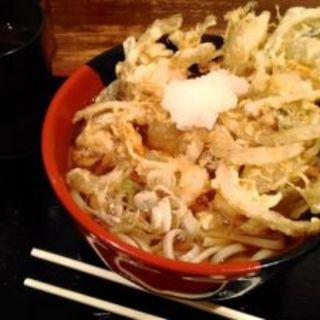 天ぷらそば(温冷)(蕎麦たかね 日本橋茅場町店 (【旧店名】蕎麦 まえだ))