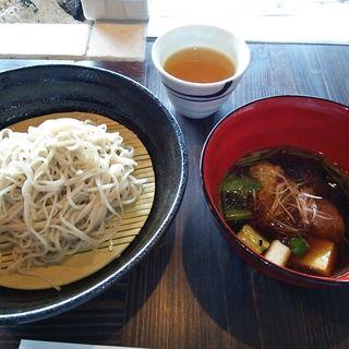 京鴨そば(蕎麦と鴨料理の店 わらべ)