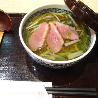 鴨南蛮そば(蕎麦流々 千角 (せんかく))