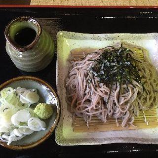 ざる蕎麦(藤橋庵 (ふじはしあん))