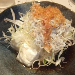 じゃこ葱豆腐(虎連坊 八重洲店  (トラレンボウ))