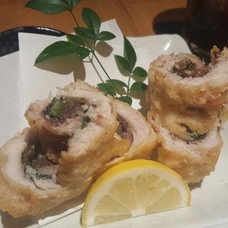 いわしの梅しそ巻き揚げ(蟹漁師の家 青山本店 )