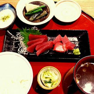 マグロ定食(西一条うおきん )