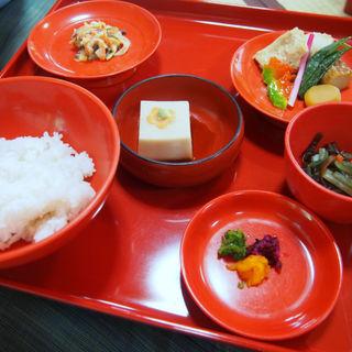 精進料理(西源院 (せいげんいん))