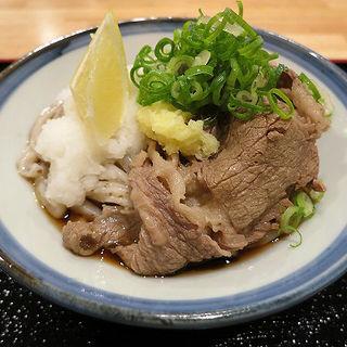 ぶっかけ小+肉(讃く)