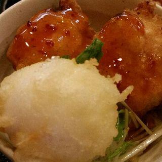 鶏玉天丼(讃岐麺屋 あうん )