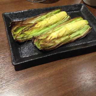 べビーコーンのオーブン焼き(豆腐と野菜のお店 まめ野nn)