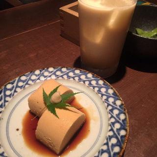 ウニ豆腐(豆腐料理 空野 南船場店 (【旧店名】空ノ庭))