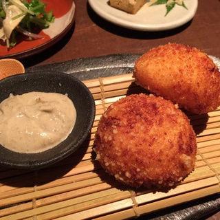 ズワイガニのクリームコロッケ(豆腐料理 空野 南船場店 (【旧店名】空ノ庭))