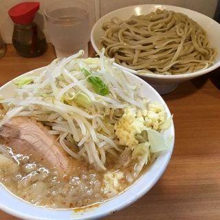 塩ラーメン+つけ麺+生玉子(豚星。 )