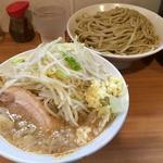 塩ラーメン+つけ麺+生玉子