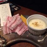 豚のチーズフォンデュ