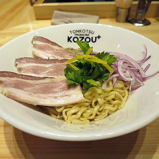 煮干しまぜそば 並(200g)(豚骨まぜそば KOZOU+)