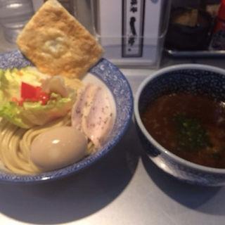 蟹トマトつけ麺(豚骨一燈 )