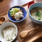 チキン南蛮と豚汁定食(赤坂うまや 神田)