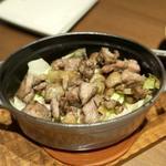 九州産 親鶏の炭火焼き(赤坂うまや 神田)