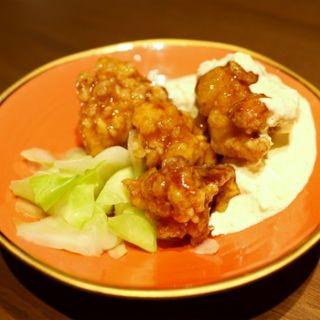 宮崎名物 ふもと赤鶏のチキン南蛮(赤坂うまや 神田)
