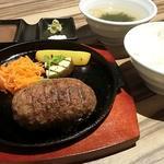 USHIOのハンバーグ 和牛100%(赤身焼肉USHIO (アカミヤキニク ウシオ))
