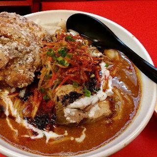 ガチ味噌カレー肉ソバ(辛口ガチ味噌肉ソバ ひるドラ 本店 )