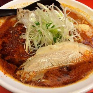 辛口ガチ味噌肉ソバ4辛にんにく有(辛口ガチ味噌肉ソバ ひるドラ 本店 )