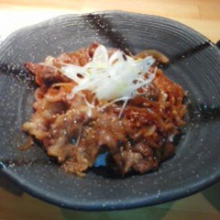 近江牛カルビ丼(近江牛焼き肉 いしかわ 栄店 )