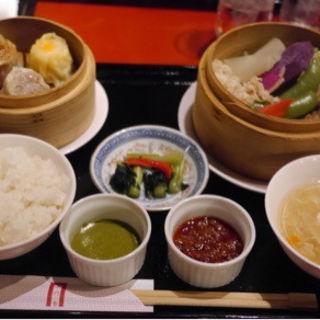 厳選野菜の飲茶御膳(過門香 銀座店)