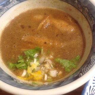 濃厚つけ麺(胚芽麺)(道玄坂マンモス)