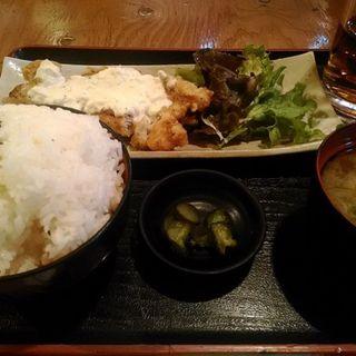 チキン南蛮定食(ご飯大盛り)(酒友龍馬)
