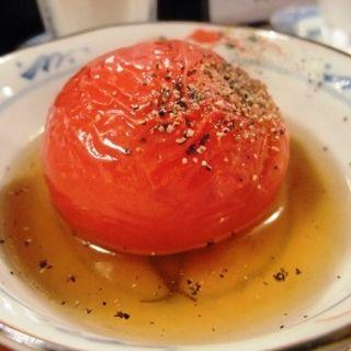 トマトおでん(酒蔵 櫛羅)