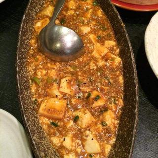 麻婆豆腐(醤じゃん (ジャンジャン))